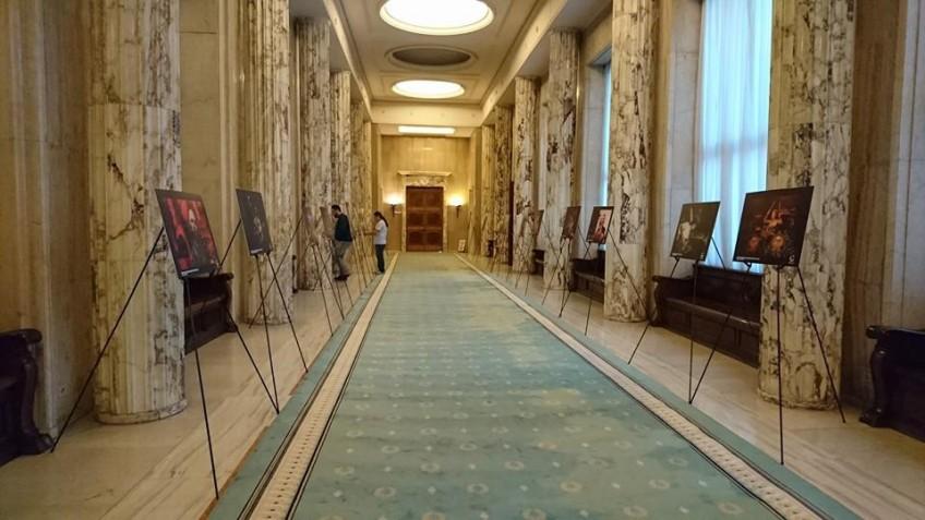 O parte din lucrarile fotografilor #Colectiv, expuse la sediul Guvernului